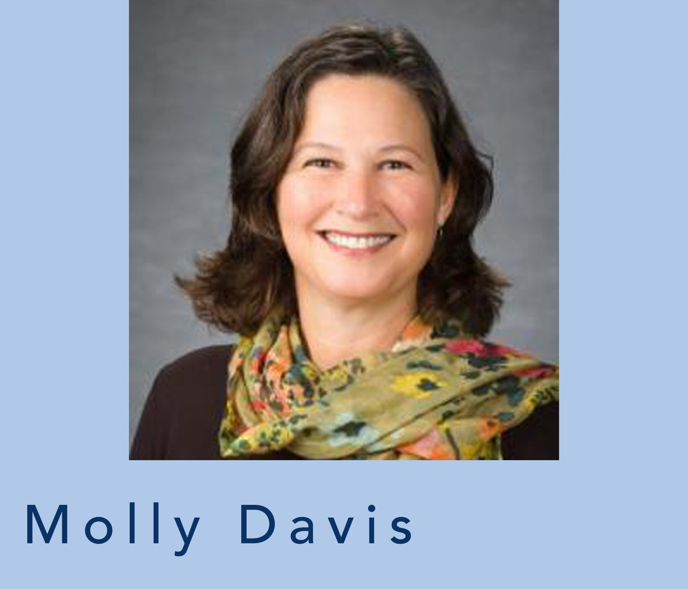head shot of molly davis